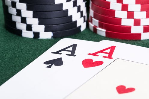 related to this website and decide on how to use the professional way to play the poker.