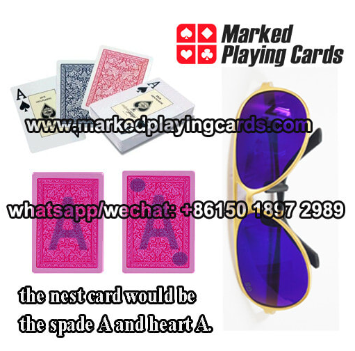 Poker cheating glasses