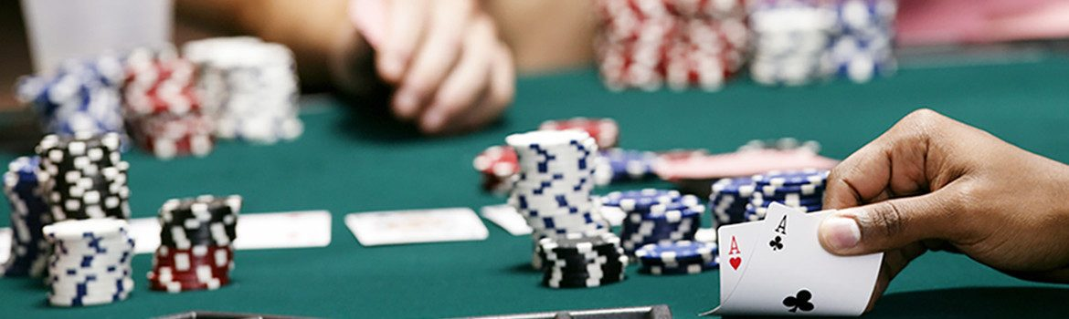 What are the types of online gambling games?